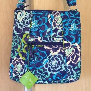 Vera Bradley Katalina Blues crossbody hipster bag.